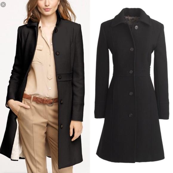 J Crew Jackets Coats J Crew Double Cloth Lady Day Coat